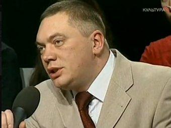 Герман Садулаев. Кадр телеканала