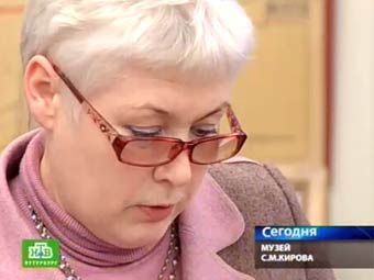 Татьяна Сухарникова. Кадр телеканала НТВ.