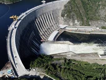Саяно-Шушенская ГЭС. Фото (c)AFP
