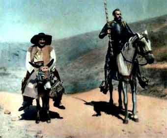 Кадр из фильма Дон Кихот 1957 года
