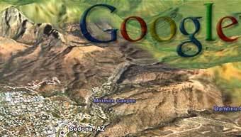 трехмерные (3D) карты местности от Google