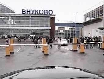 """Аэропорт """"Внуково"""", кадр НТВ, архив"""