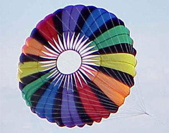 прыгнуть с парашютом..