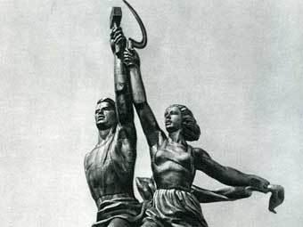 """Рабочий и колхозница"". Фото с сайта bcxb.ru"