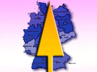 Карта Германии с сайта lib.utexas.edu