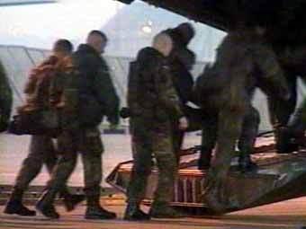 Германские войска в аэропорту. Кадр их архива телеканала ТВ6