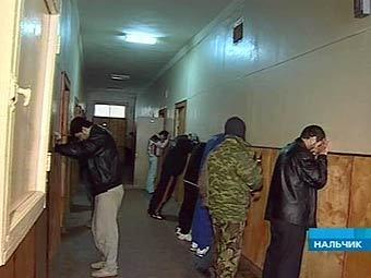 Задержанные участники нападения на...