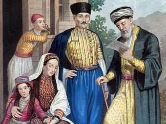 Традиционная одежда крымских татар