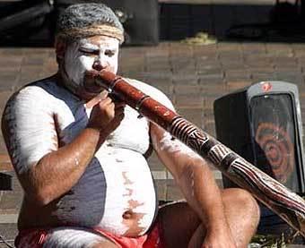 Австралийский абориген. Фото с сайта phobos.ramapo.edu