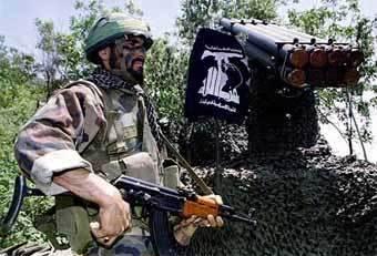 یکی از سکوهای پرتاب موشک حزب الله