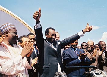 Президент Чада Идрисс Деби. Фото с сайта essochad.com