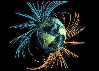Магнитный полюс Земли смещается в сторону России