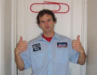 Кайли и символ его бизнеса, фото с сайта flickr.com