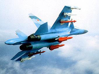 Новосибирские Су-34 заступили на боевую вахту.