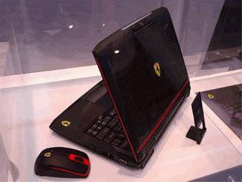 Ноутбук Acer Ferrari. Фото с сайта digitimes.com