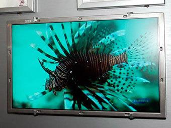 Телевизор Samsung с функцией FFL. Фото с сайта watch.impress.co.jp