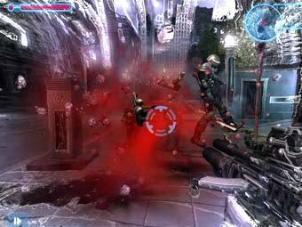 Скриншот игры TimeShift