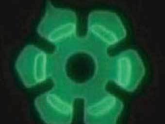 Вращаемый бактериями ротор нанодвигателя. Изображение с сайта Live Science