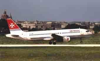 Самолет авиакомпании Air Malta. Фото с сайта airmalta.com