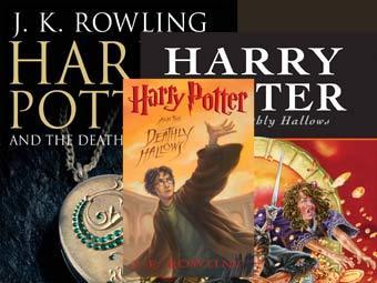 В американские и британские магазины книга Harry Potter and the