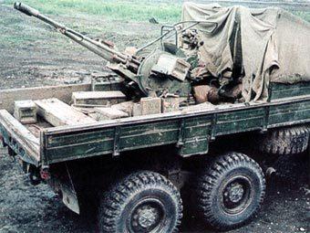 """установка ЗУ-23-2 на шасси  """"Урала """".  Объявления."""