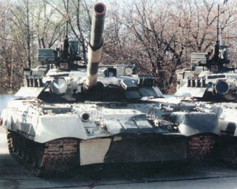 Танк Т-80. Фото с сайта ochevidec.net