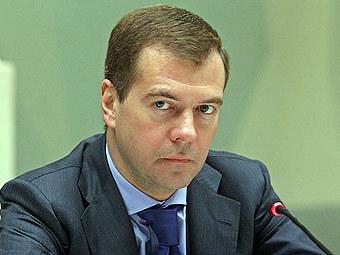 Дмитрий Медведев. Фото Александра Котомина, Lenta.Ru