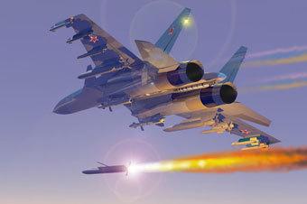 Су-33 в полёте