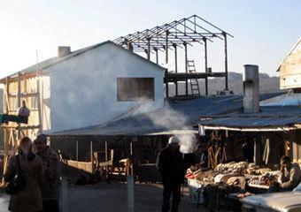 Самовольные постройки крымских татар на горе Ай-Петри, фото сайта www.rupor.info