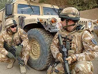 Британские солдаты в Афганистане. Фото с официального сайта Минобороны Великобритании