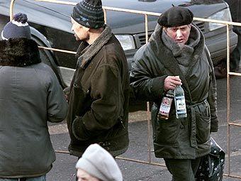 Штраф за распитие алкоголя в общественных местах увеличат в 10 раз.