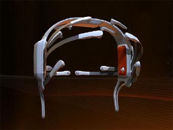 Устройство для мозгового контроля игр, изображение с сайта Emotiv.com
