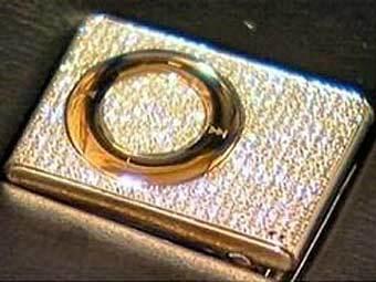 На благотворительном аукционе продадут бриллиантовый iPod