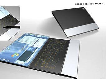 Концепт-ноутбук Compenion. Фото с сайта notebooks.com