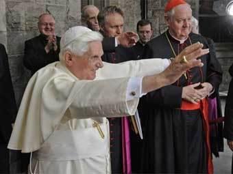 Впервые Римский епископ посетит Соединенное Королевство с государственным визитом