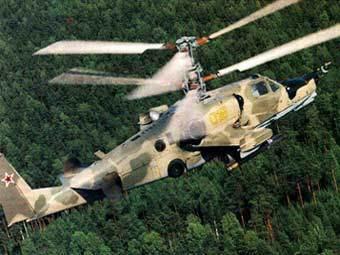 Описание ударного вертолета Ка-50 (Черная акула) Боевой