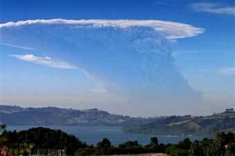 Извержение вулкана Чайтен. Фото AFP