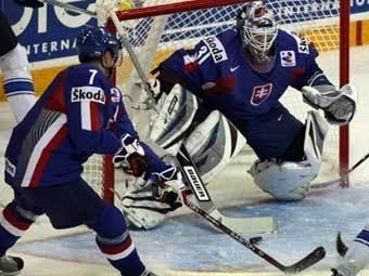 Словацкие хоккеисты выбыли из борьбы за медали чемпионата мира