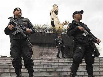 Филиппинские полицейские. Фото AFP