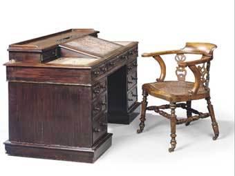 Письменный стол и стул Диккенса проданы за 850 тысяч долларов