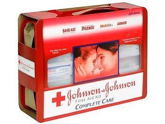 Продукция Johnson & Johnson. Фото пресс-службы компании