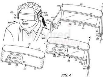Иллюстрация из патентной заявки Motorola