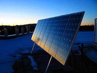 Солнечная батарея. Фото с сайта ubergizmo.com