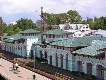 Вокзал в Кубинке. Фото с сайта kybinka.info