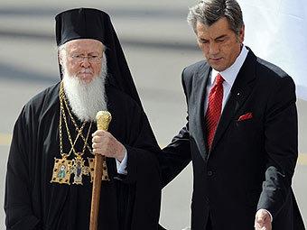 Визит на Украину Константинопольского Патриарха Варфоломея