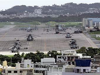 База ВС США на Окинаве. Фото AFP