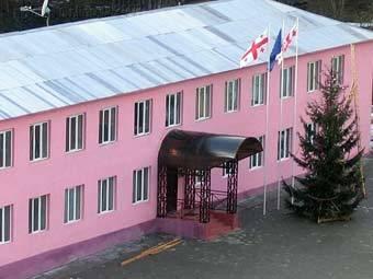 В грузинской части Кодорского ущелья поднят абхазский флаг