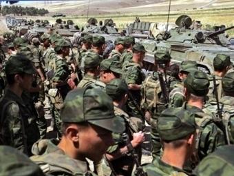 Российские войска в районе Гори. Фото AFP