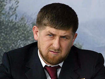 Рамзан Кадыров. Фото с сайта chechnyafree.ru