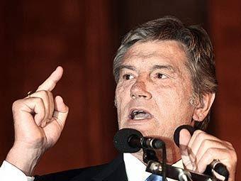 Виктор Ющенко. Фото AFP.